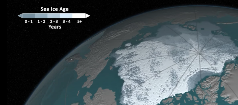 The Clever Way that NASA Tracks Arctic Ice